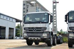 奔驰 Actros重卡 408马力 8X4载货车(型号4141底盘) 卡车图片