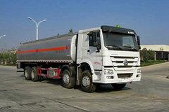 中国重汽 HOWO 380马力 8X4 运油车(湖北楚胜牌)(CSC5317GJYZ4)