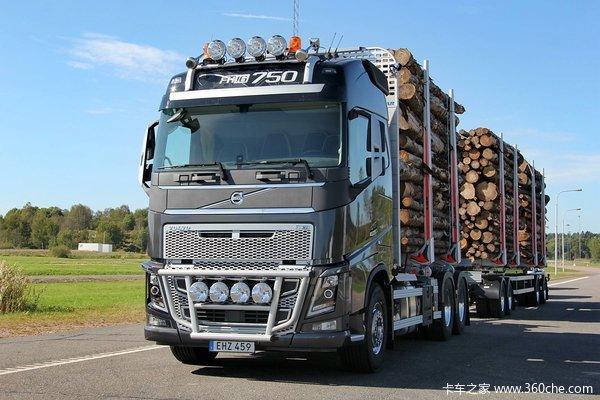 沃尔沃 新FH16重卡 750马力 6X4牵引车