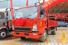 中国重汽HOWO 悍将 115马力 4.2米单排栏板轻卡(ZZ1047D3415D145) 卡车图片