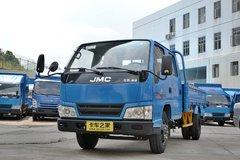 江铃 新顺达 109马力 3.3米双排长轴栏板轻卡(JX1041TSGA24) 卡车图片
