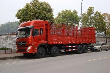 东风商用车 天龙重卡 420马力 8X4 9.6米仓栅式载货车
