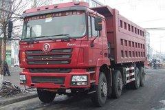 陕汽重卡 德龙F3000 375马力 8X4 7.6米自卸车(SX3316DT366) 卡车图片