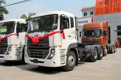 东沃 UD酷腾重卡 430马力 6X4牵引车(平顶驾驶室)(DND4250WB34)