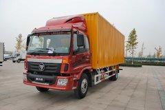 福田 欧马可5系中卡 高效版 170马力 4X2 7.8米排半厢式载货车(BJ5169XXY-F1) 卡车图片