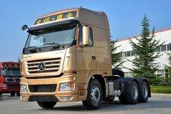 大运 N9重卡 430马力 6X4牵引车(土豪金) 卡车图片