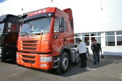 青岛解放 悍V重卡 350马力 6X2牵引车(CA4227P1K15T3E4A80) 卡车图片