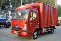 中国重汽HOWO 悍将 108马力 4.2米单排厢式轻卡(ZZ5047XXYD3414D145) 卡车图片
