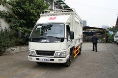 江铃 新顺达 109马力 4.2米单排仓栅式轻卡(JX5044CCYXG2) 卡车图片