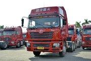 陕汽重卡 德龙F3000 轻量化版 380马力 6X4 LNG牵引车(SX4258NT384TL)