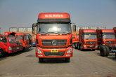 东风商用车 天锦中卡 210马力 4X2排半载货车底盘(速比:4.44)(DFL1140B10)