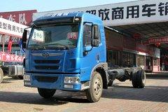 青岛解放 龙V中卡 150马力 4X2 6.8米排半栏板载货车底盘(CA1120PK2L2E4A80) 卡车图片