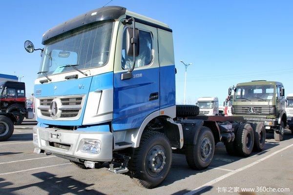 北奔 V3重卡 336马力 8X4自卸车底盘(国五)