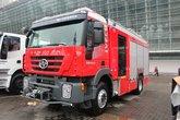 红岩 杰狮 350马力 4X2 消防车(四川森田-川消牌)(SXF5170GXFSG40IV)