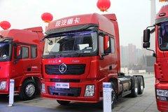 陕汽重卡 德龙X3000 460马力 6X4 LNG牵引车(SX42584X344TL)