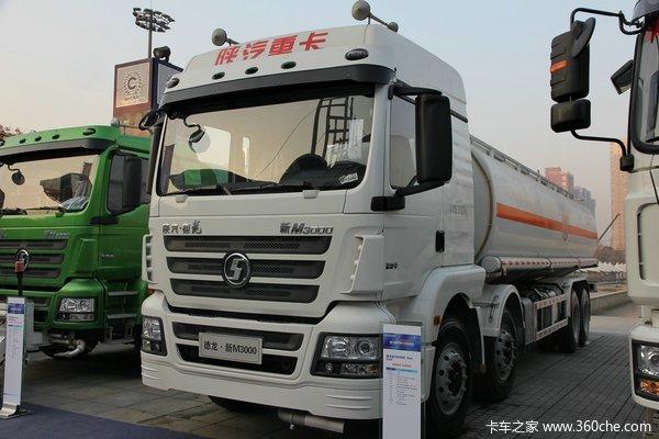陕汽重卡 德龙新M3000 340马力 8X4 铝合金运油车(SHN5320GYYMB6316)