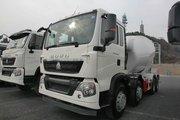 中国重汽 HOWO T5G 340马力 8X4 混凝土搅拌车(ZZ5317GJBN306GD1)