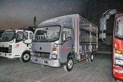 中国重汽HOWO 悍将 87马力 4.2米单排仓栅式轻卡(ZZ5047CCYC3414D145) 卡车图片