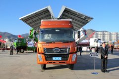 时骏 凯沃达中卡 160马力 4X2 6.8米厢式载货车(LFJ5160XXY2) 卡车图片