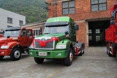 一汽柳特 新安捷(L5R)重卡 350马力 6X4 LNG牵引车(CA4253N2E5R5T1A92)
