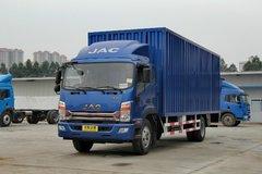 江淮帅铃 威司达W570中卡 核载版 160马力 4X2 7.6米排半厢式载货车(EQ5160XXYLZ4D)