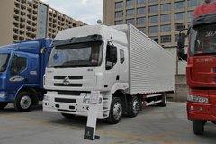 东风柳汽 乘龙M5重卡 270马力 6X2 9.6米排半厢式载货车(LZ5200XXYM5CA) 卡车图片