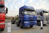 东风柳汽 乘龙M5重卡 320马力 8X4 9.6米排半仓栅载货车底盘(LZ5311CCYM5FA)