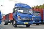 江淮帅铃 威司达W570 160马力 4X2 7.66米排半厢式载货车底盘(HFC5142XXYP70K1E3V)