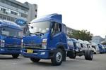 江淮帅铃 威司达W570中卡 165马力 4X2 7.7米厢式载货车底盘(HFC5141XXYP70K1E2)