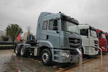 华菱 汉马H9重卡 430马力 6X4牵引车(速比3.73)(HN4250A46C4M5)