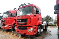 华菱 汉马重卡 260马力 4X2港口牵引车(HN4180H27C4M4) 卡车图片