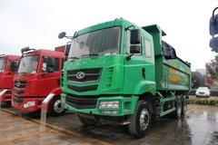 华菱 汉马重卡 345马力 6X4 5.6米自卸车(新型渣土车)(HN3251B34C9M4) 卡车图片