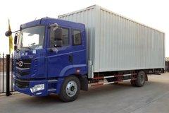华菱 汉马重卡 160马力 4X2 7.7米单排厢式载货车(HN5160XXYC16C8M4) 卡车图片