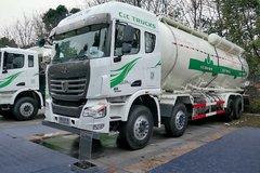 联合卡车U400 400马力 8X4 LNG粉粒物料车(SQR5312GFLN6T6)