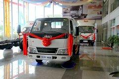 江铃 新顺达 109马力 3.7米单排栏板轻卡(高货台)(JX1041TC24) 卡车图片