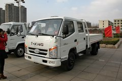唐骏欧铃 欧冠 旗舰版 112马力 汽油/CNG 3.2米双排栏板轻卡(ZB1030LSD6F) 卡车图片