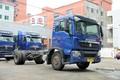 中国重汽 HOWO T5G中卡 180马力 4X2 6.5米排半厢式载货车底盘(ZZ1167H501GD1)