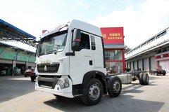中国重汽 HOWO T5G重卡 240马力 6X2 9.6米厢式载货车底盘(ZZ1257K56CGD1) 卡车图片