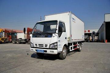 庆铃 五十铃600P 120马力 4X2 冷藏车(中集牌)(JG5040XLC4)