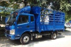 飞碟奥驰 X2系列 95马力 3.8米排半仓栅轻卡(FD5040CCYW10K) 卡车图片