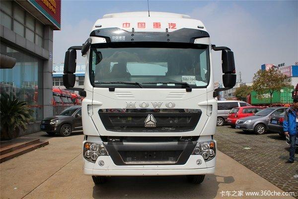 中国重汽 HOWO T5G重卡 340马力 6X4牵引车