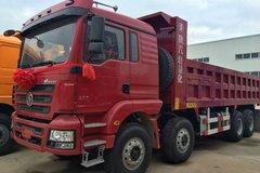 陕汽重卡 德龙新M3000 336马力 8X4 7.4米自卸车(SX3316HR366) 卡车图片
