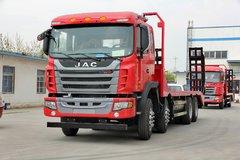 江淮格尔发 300马力 8X4 7.2米平板运输车(HFC5311TPBP2K4H38AF) 卡车图片