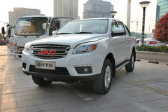 江淮帅铃T6 2016款 创客版 舒适型 2.8T柴油 短轴双排皮卡 卡车图片