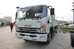 江淮帅铃 威司达W530中卡 165马力 4X2 6.8米排半栏板载货车(HFC1121P70K1E1) 卡车图片