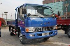 江淮 骏铃E6 130马力 4.2米单排栏板轻卡(蓝色)(HFC1043P91K6C2) 卡车图片