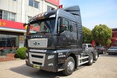 中国重汽 汕德卡SITRAK C7H重卡 440马力 6X2R牵引车(ZZ4256V323HD1)(黑色) 卡车图片