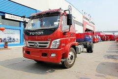 福田 奥铃CTX中卡 载重版 156马力 4X2 5.75米排半栏板载货车底盘(BJ1129VGJED-FB)