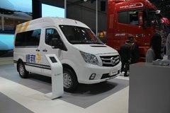 福田商务车 图雅诺S 129马力 封闭厢式货车(物流版)