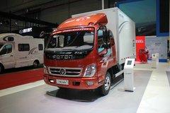 福田 奥铃CTX 143马力 3.7米排半厢式轻卡(国五)(BJ5049XXY-B1) 卡车图片